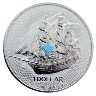 1 Oz stříbrná mince COOK ISLANDS BOUNTY 2020